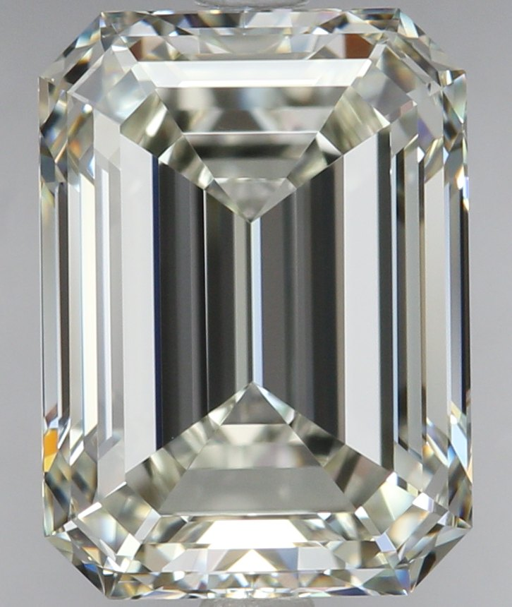 3.23 Carat Emerald Cut Loose Diamond VVS2 Clarity K Color Excellent Cut