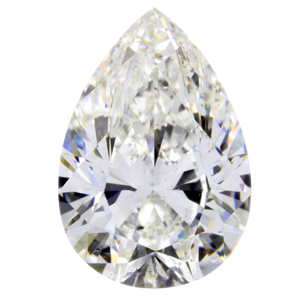 1.51 Carat Pear Cut Loose Diamond SI1 Clarity G Color Excellent Cut