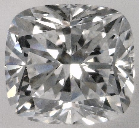 0.60 Carat Cushion Cut Loose Diamond SI1 Clarity E Color Good Cut
