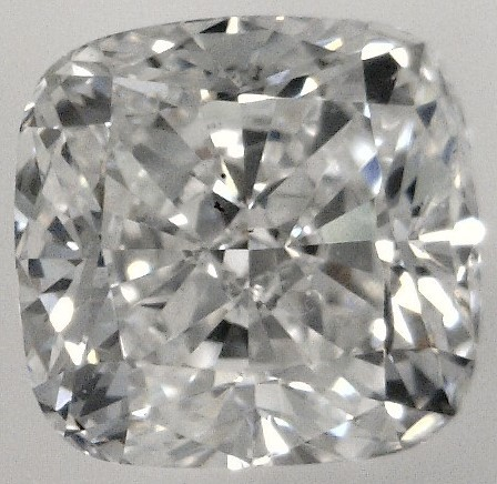 0.60 Carat Cushion Cut Loose Diamond SI1 Clarity F Color Very Good Cut