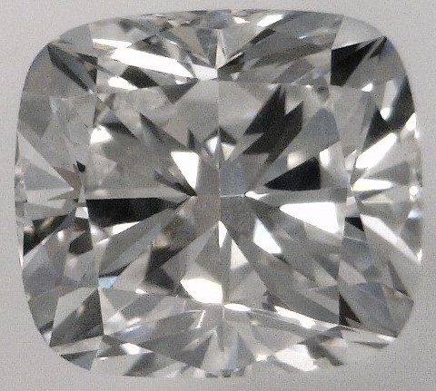 0.60 Carat Cushion Cut Loose Diamond SI1 Clarity H Color Good Cut