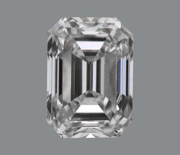 0.18 Carat Emerald Cut Loose Diamond VVS1 Clarity F Color Good Cut