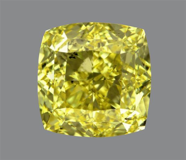 1.54 Carat Cushion Cut Loose Diamond SI1 Clarity Color Excellent Cut