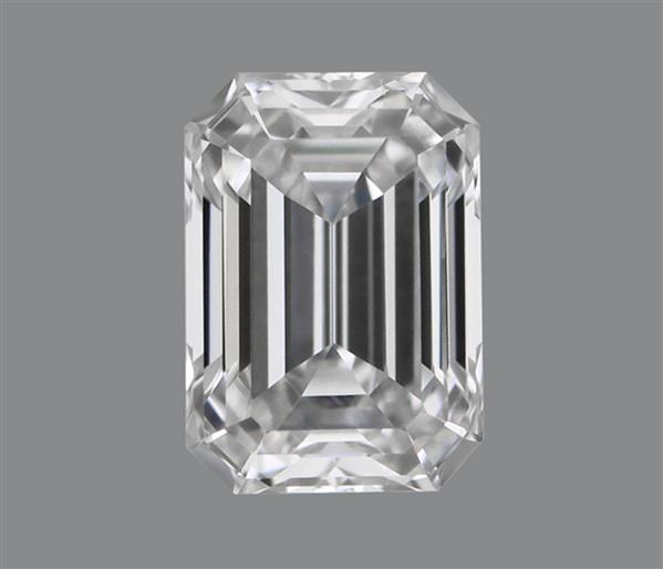 0.17 Carat Emerald Cut Loose Diamond VVS2 Clarity D Color Very Good Cut