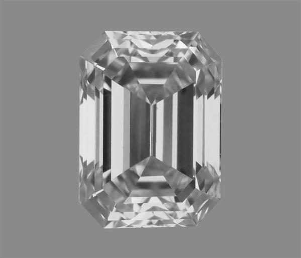 0.17 Carat Emerald Cut Loose Diamond VVS1 Clarity D Color Very Good Cut