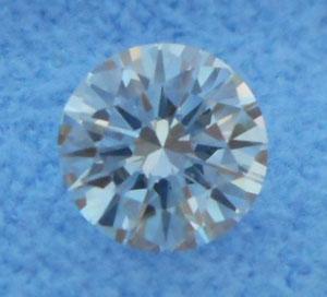 0.54 Carat Round Cut Loose Diamond VVS2 Clarity E Color Very Good Cut