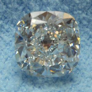 2.13 Carat Cushion Cut Loose Diamond VS2 Clarity G Color Excellent Cut