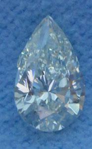 1.00 Carat Pear Cut Loose Diamond I1 Clarity J Color Good Cut